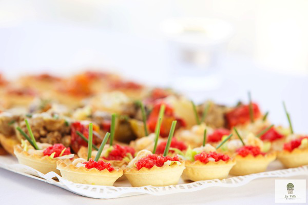 Catering Bautizo Canapés