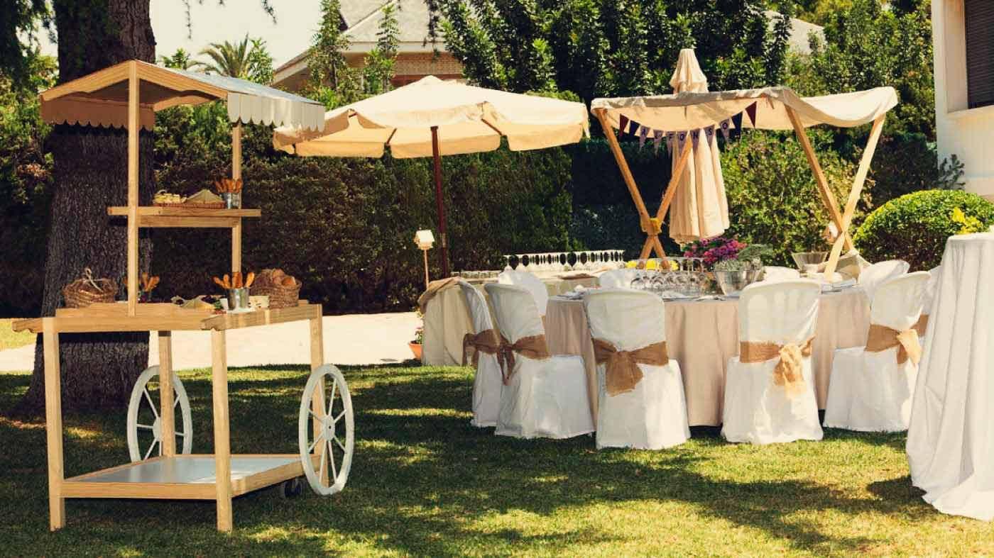 Catering Bautizo en Jardín