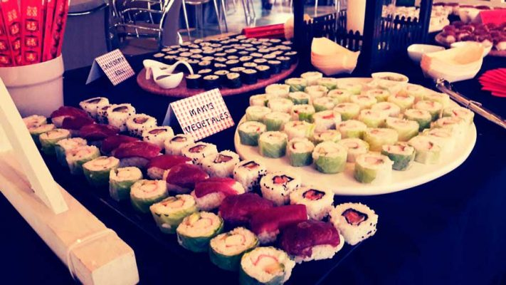 sushi catering valencia