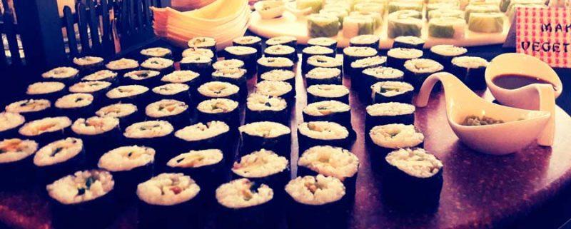 catering de sushi en valencia