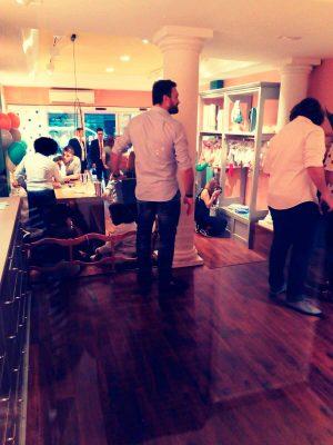 catering inauguración tienda